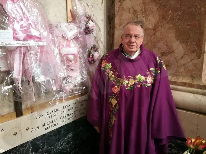 Madonna dei fiori di Bra: tre lapidi dedicate ai rettori defunti 2