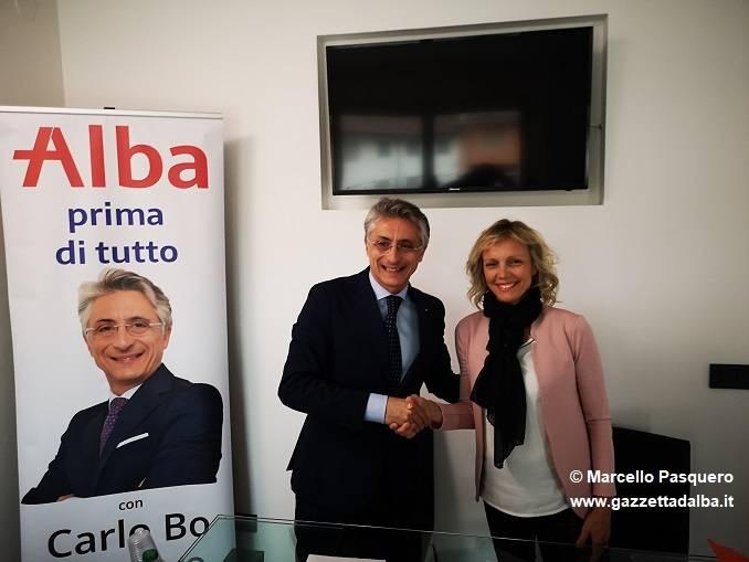 Carlotta Boffa non correrà come sindaco, sosterrà Carlo Bo e il centrodestra