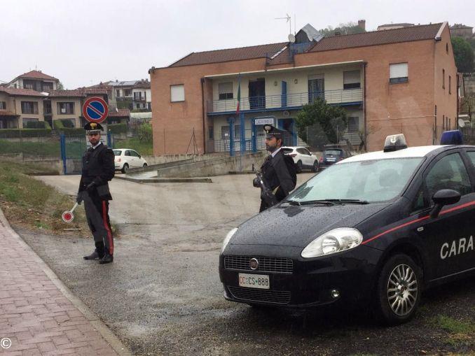 castagnole lanze carabinieri