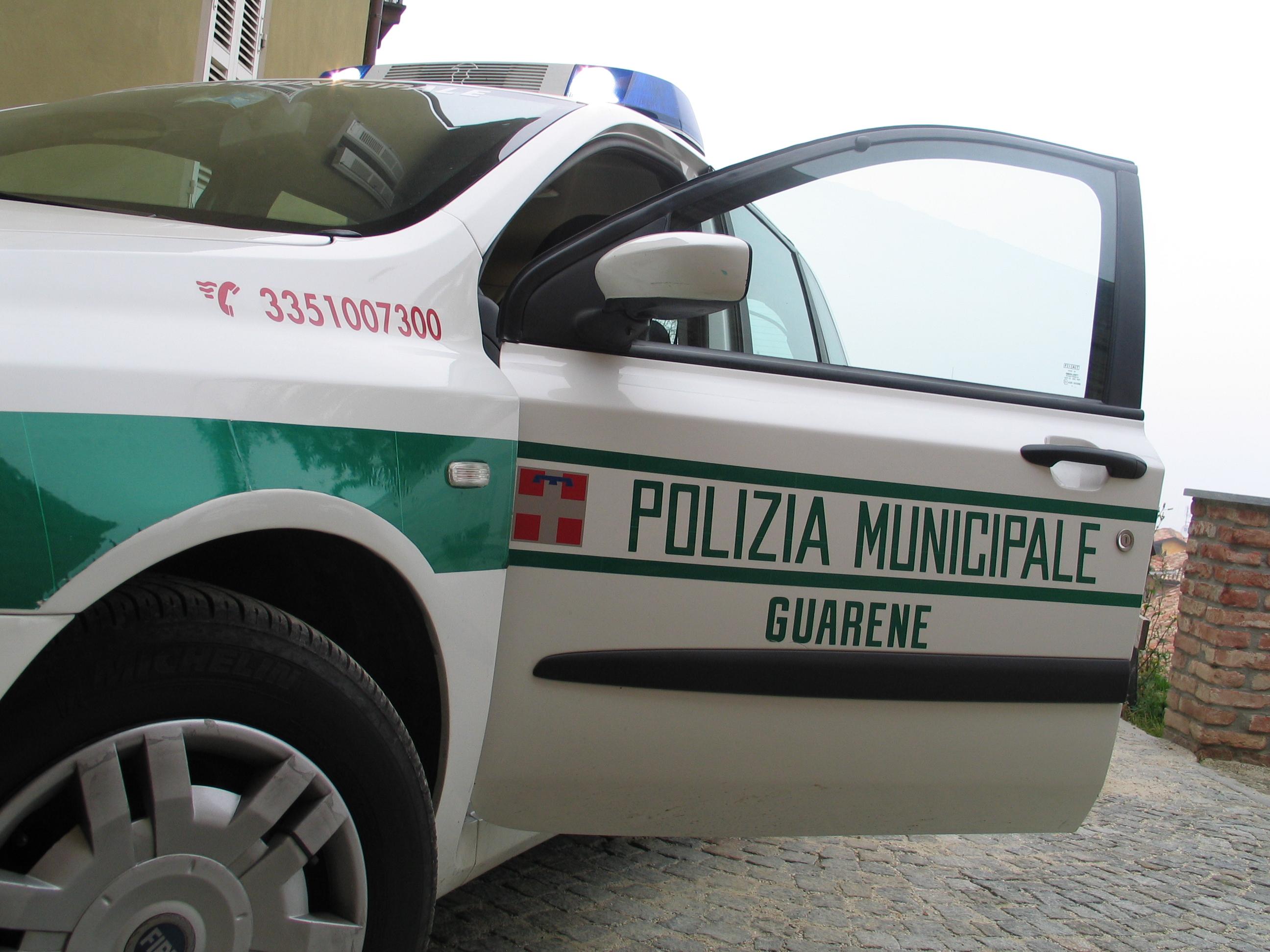 polizia locale guarene 1