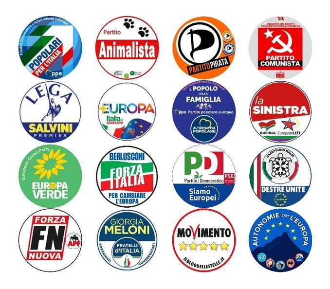simboli europee 2019