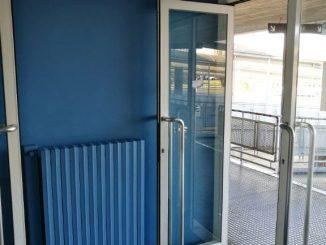Bus company ha ridipinto le pareti dell'autostazione