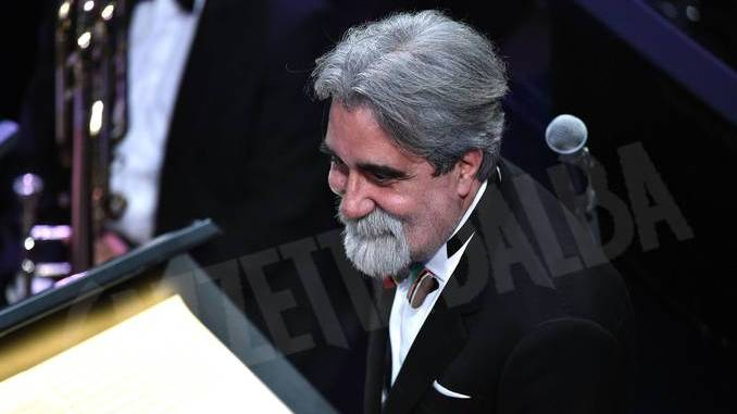 Peppe Vessicchio dà il via alla festa della Banca d'Alba
