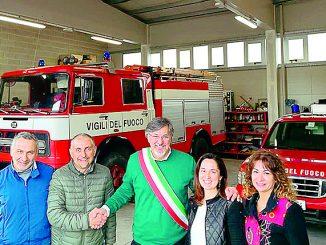 Nuova sede per i Vigili del fuoco volontari nella stessa area di Avav e Protezione civile
