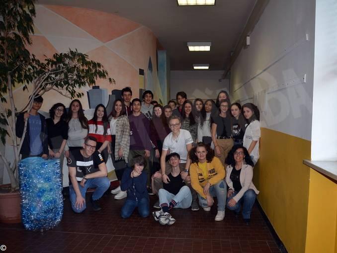Alcuni alunni partecipanti al modulo IO SONO CAPACE