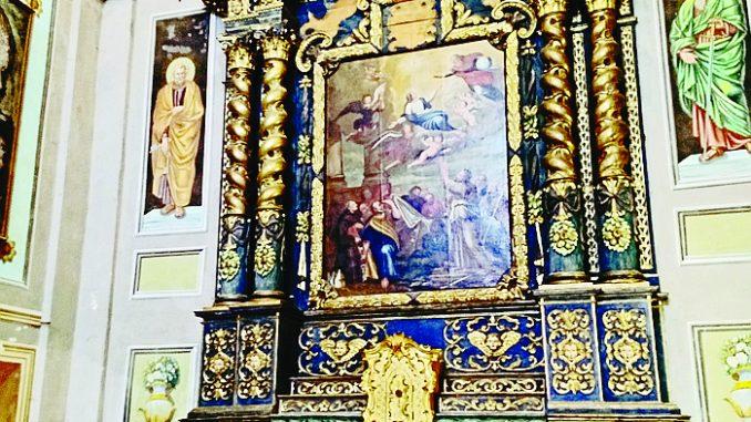Monteu: concluso il restauro dell'altare della confraternita di San Bernardino