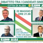 Alle 21 a Radio Alba l'ultimo dibattito tra i quattro candidati sindaco albesi