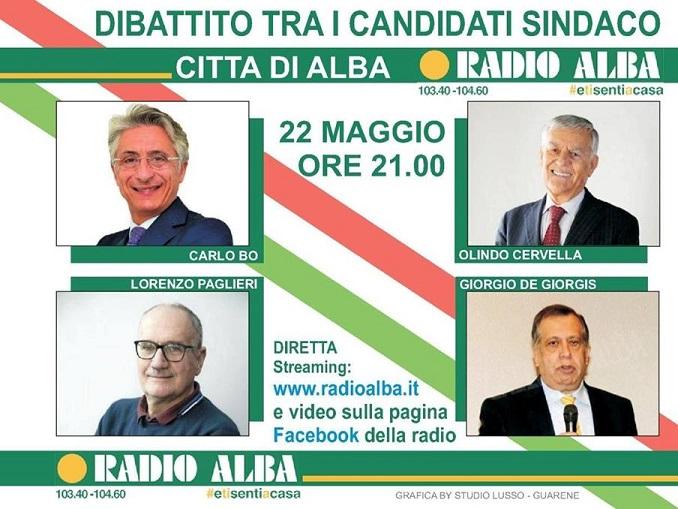 Candidati sindaco Alba