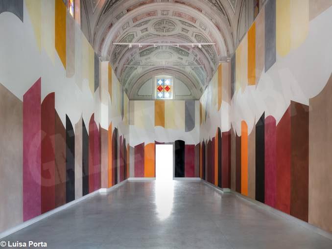 Un'opera di Tremlett per i 400 anni del monastero di San Maurizio 1