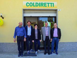 Castagnole delle Lanze: inaugurato il nuovo ufficio di recapito Coldiretti