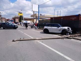 Grave incidente in via Piumati a Bra