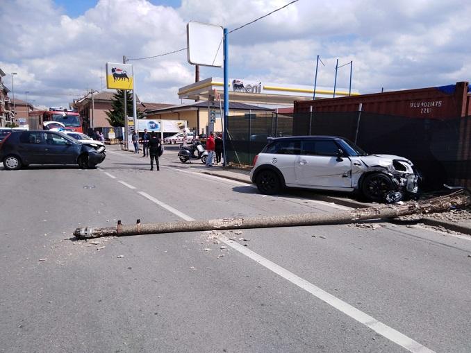 Incidente via Piumati a Bra
