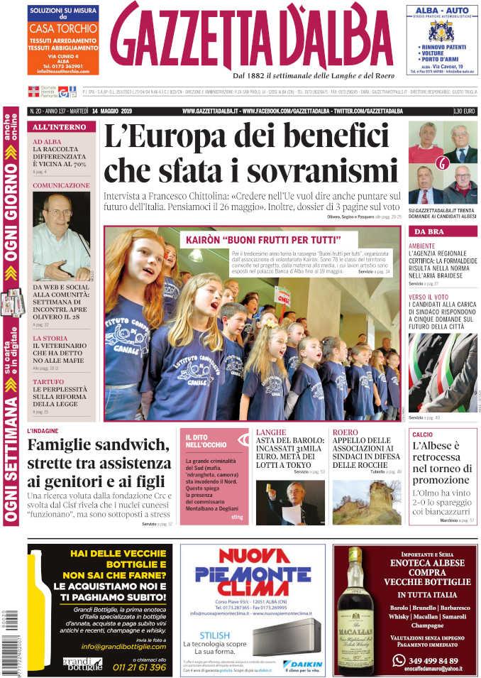 Prima_pagina_Gazzetta_Alba_20-19