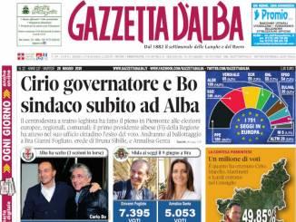 La copertina di Gazzetta d'Alba in edicola mercoledì 29 maggio