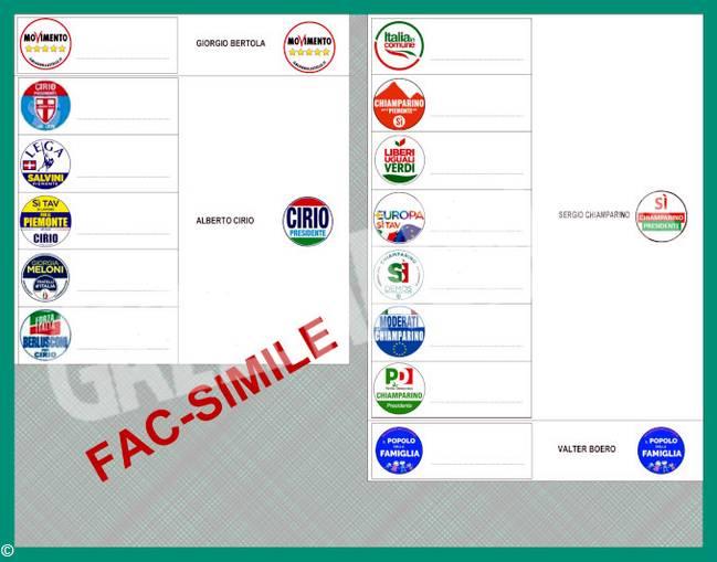 REGIONALI Cuneo 2019_ FACSIMILE