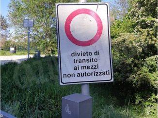 Parco Tanaro: il divieto di transito non viene rispettato 1