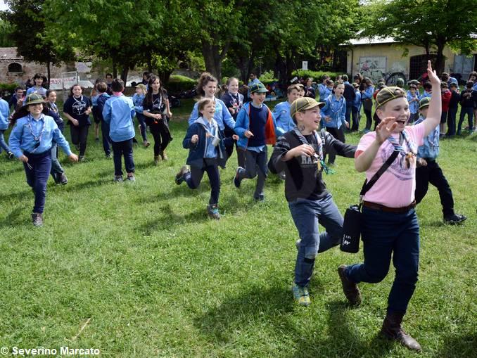 alba scout festa primavera 21