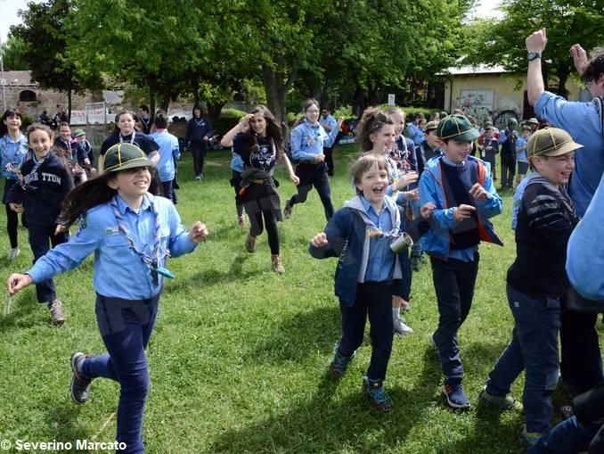 alba scout festa primavera 22