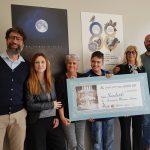 """6 mila euro donati a """"Missione autismo"""" grazie a """"La giostra di Nina"""" di Valerio Berruti"""