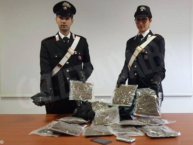 Arrestato ad Asti un diciassettenne per spaccio di droga