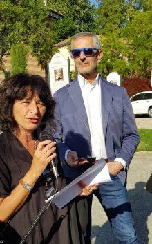 Gianrico Carofiglio legge Lussu nella prima passeggiata letteraria della fondazione Mirafiore