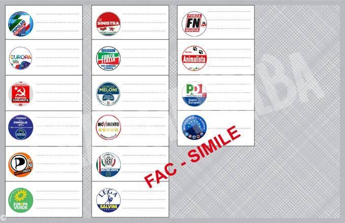 Elezioni 2019: simboli, liste e candidati per le europee 16