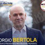 Domani, martedì 7 maggio, il candidato governatore dei 5 stelle Bertola sarà ad Alba