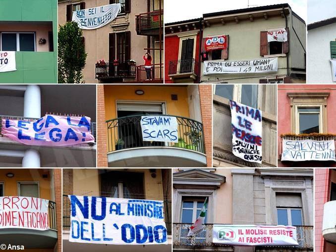 """I balconi mettono a nudo tutto lo """"scuorno"""" d'Italia 3"""