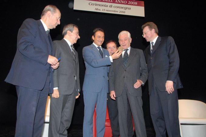 Morto Gianluigi Gabetti, consigliere della famiglia Agnelli, premiato nel 2008 con il Tartufo dell'anno 1
