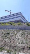 Nuovo ospedale di Verduno. Infiltrazioni d'acqua, muffe e locali ancora da terminare