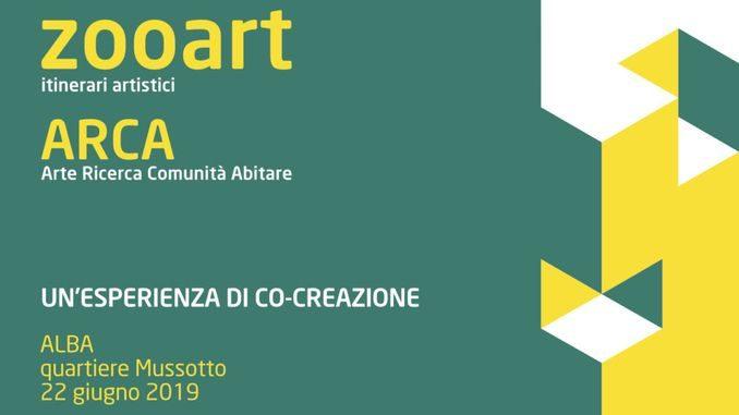 Si inaugura il progetto Zooart arca per la frazione Mussotto ad Alba