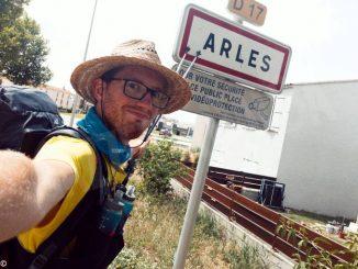 Andrea Barra in cammino verso Santiago de compostela