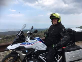 I centauri albesi piangono Aurelio Cagliero, morto al termine di un tour con il Motoclub 100 torri