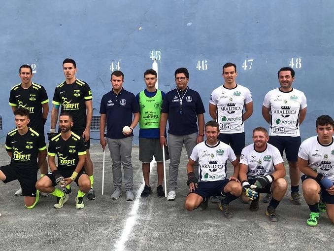 Pallapugno: la Canalese solitaria in testa alla Serie A