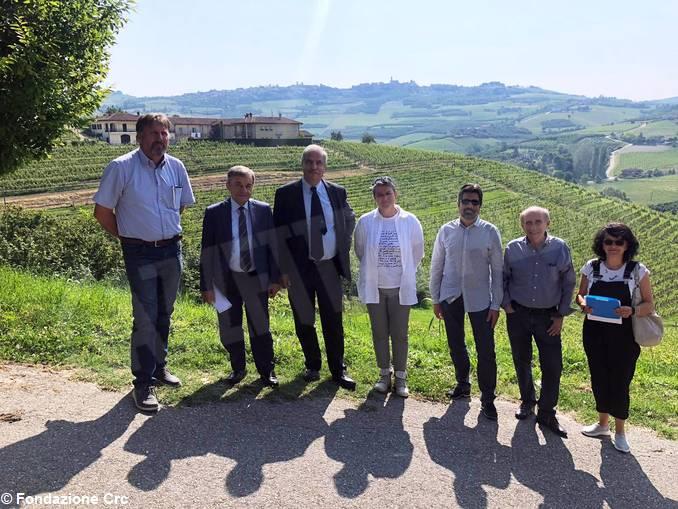 Delegazione Fondazione CRC e Umberto I