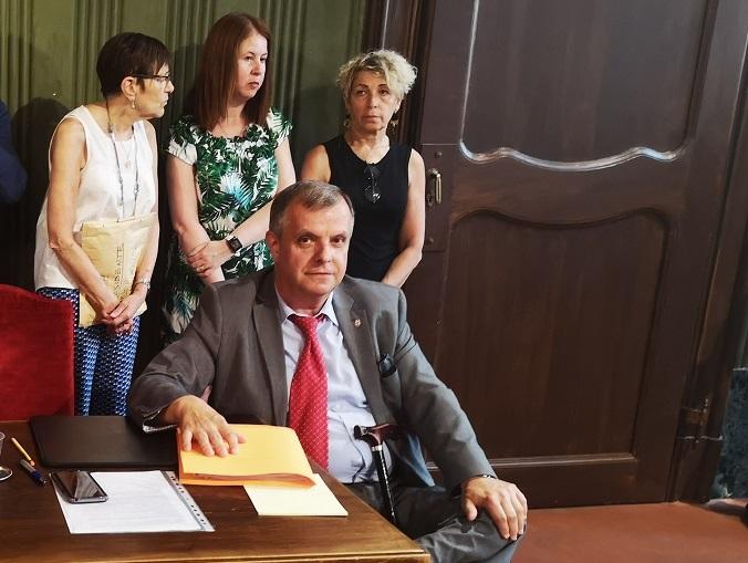 In corso il primo consiglio comunale dell'amministrazione Carlo Bo 1