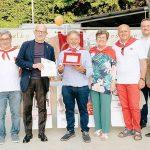 Cossano: quinta medaglia d'oro (150 donazioni) per Francesco Noè