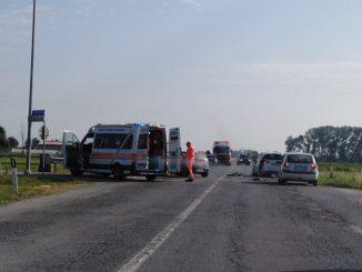 Incidente tra due auto tra Narzole e Bene Vagienna