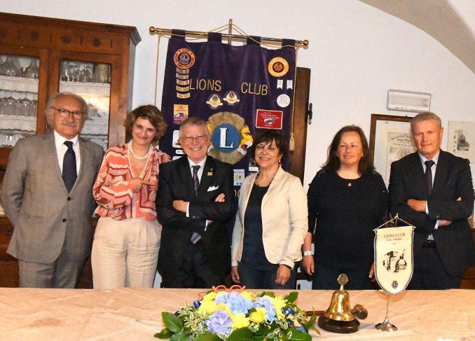 Giudice della Prova del cuoco ospite del Lions club Carrù-Dogliani
