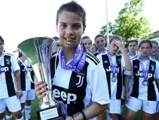 Lo scudetto under 15 femminile della Juventus porta la firma dell'albese Maddalena Morengo
