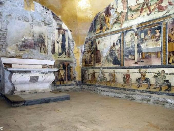 Mombarcaro, San Rocco, interno