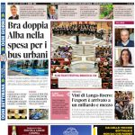 Le notizie principali del numero in edicola il 4 giugno