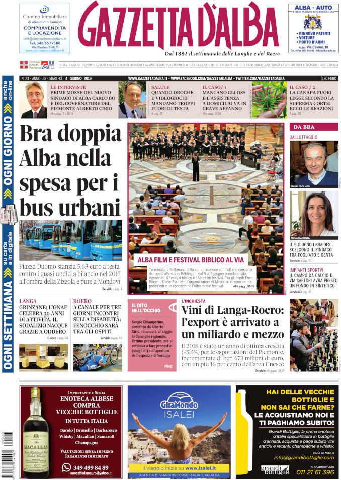 Prima_pagina_Gazzetta_Alba_23-19