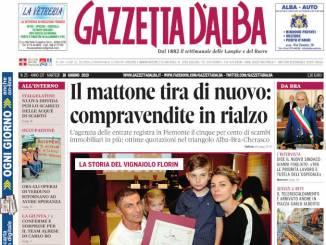 La copertina di Gazzetta d'Alba in edicola martedì 18 giugno