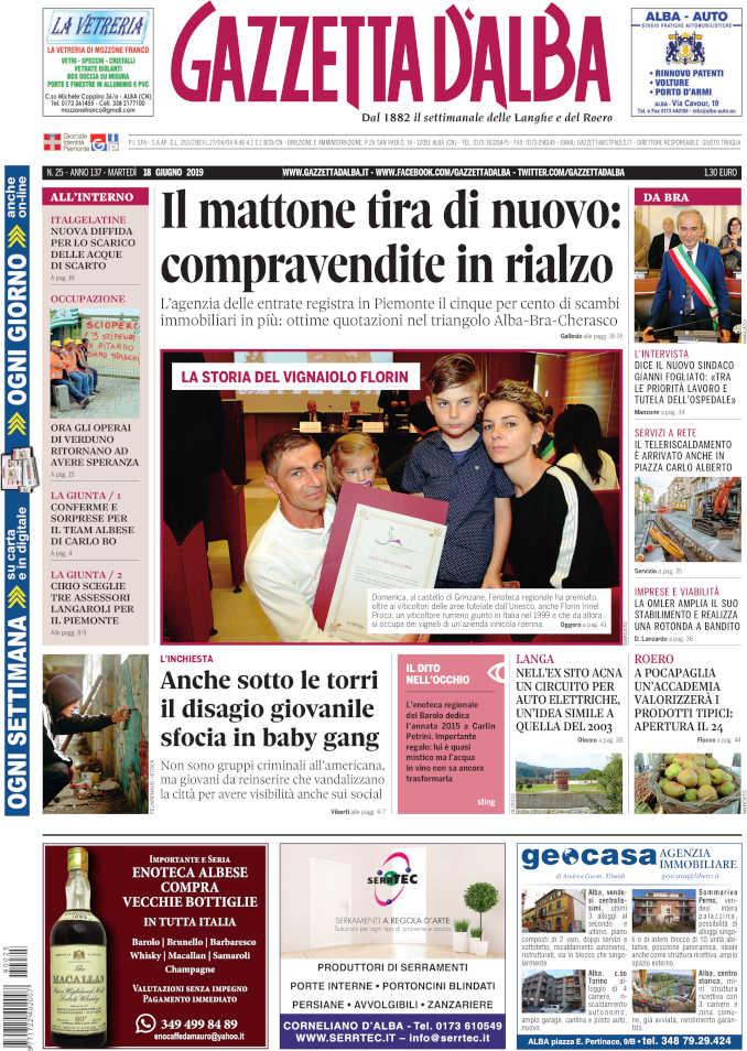 Prima_pagina_Gazzetta_Alba_25_19