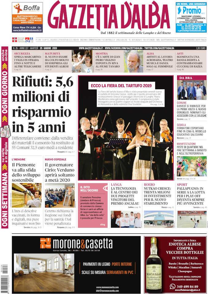 Prima_pagina_Gazzetta_Alba_26_19