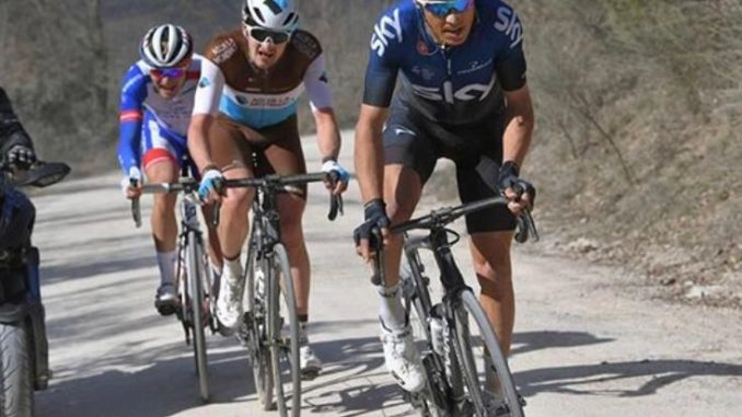 Giro di Toscana: Rosa al lavoro per Bernal, ma vince Visconti
