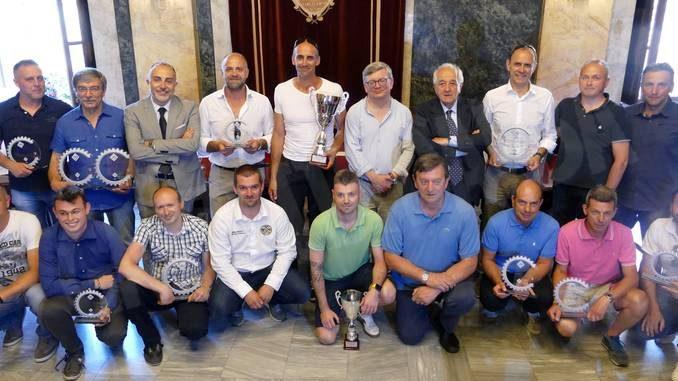 L'Automobile club Cuneo ha premiato i suoi alfieri della velocità sportiva 2