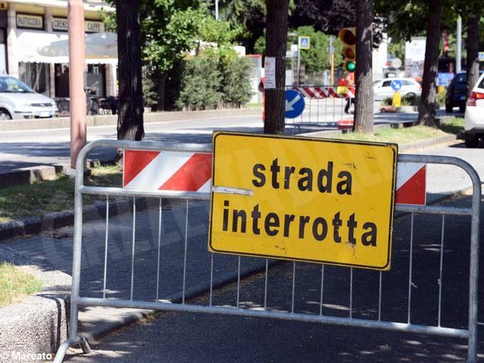 Da lunedì un ampio cantiere interesserà l'intersezione tra corso Enotria e corso Langhe ad Alba