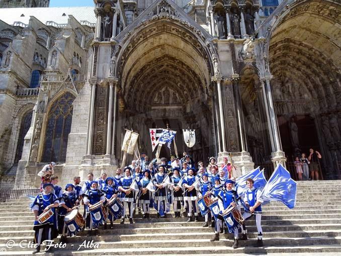 Il Borgo di San Lorenzo protagonista alla rievocazione storica di Chartres in Francia 2